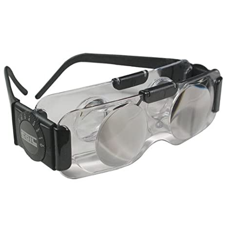 Adjustable Len Reading Glasses 6D to 3D Lens Correction Binocular Mag