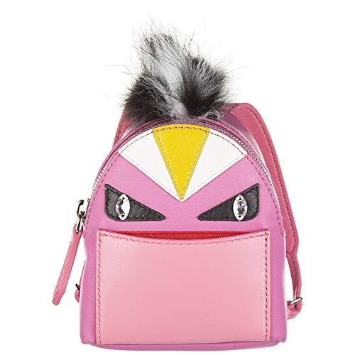 Fendi charm de bolso mujerbag bugs rosa