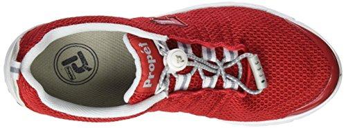 Propet W3239_m(b), Zapatillas para Mujer Rojo (Red)