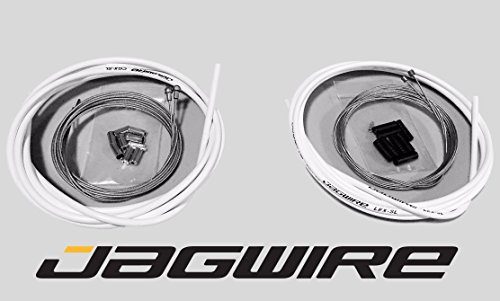 JAGWIRE ROAD SHOP KIT - Complete Brake & Shifter Cable and Housing Kit- Black - SRAM/Shimano by Jagwire (Image #6)