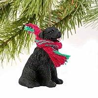 1 X Adorno de perro en miniatura de Terranova