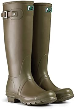 Moneysworth and Best Women's Tall Rubber Welly Boot