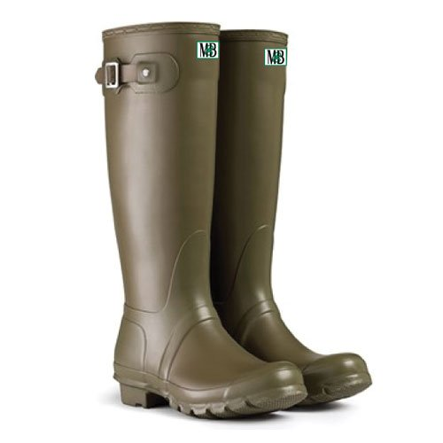 Moneysworth and Best Women's Tall Rubber Welly Boot B00MOFD3IA 9|Army