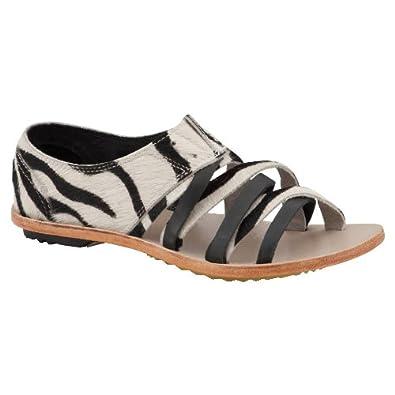 Damen Sandale Lake Shoe II NL1812 37.5 Black/White Sorel SUJU9lSXXj