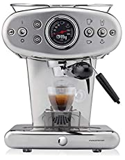illy X1 kaffemaskin för Iperespresso kapslar, rostfritt stål, jubileum