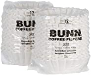 Bunn REGFILTER BUNN 1M5002 Commercial Coffee Filters, 12-Cup Size (Case of 1000)