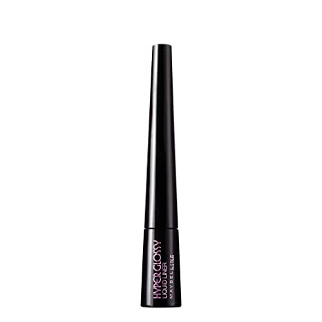 07bce4ac2a Buy Maybelline Hyper Glossy Liquid Liner, Black, 3g Online at Low Prices in  India - Amazon.in