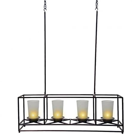 Amazon partylite 4 candle bronze framework chandelier and partylite 4 candle bronze framework chandelier and centerpiece aloadofball Gallery