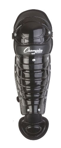 Champion Sports Single Knee Shinguard (Black, 13-Inch)