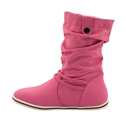 Elara - Botas Chelsea Mujer Pink 2