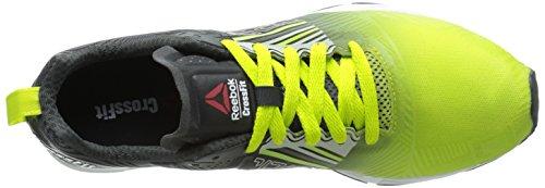Reebok Herren CrossFit Sprint 2.0 SBL Trainingsschuh Semi Solar Gelb / Kies / Stahl / Polarblau