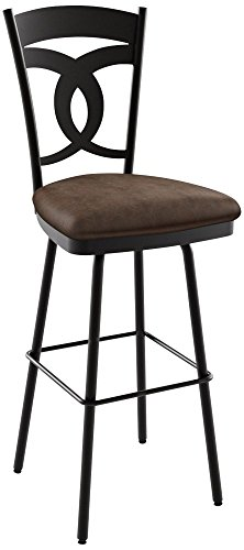 (Amisco Valley Swivel Counter Stool 26 in.)