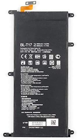 G Pad X 8.0 LTE//G Pad X 8.3 V520 Powerforlaptop Internal Replacement BL-T17 EAC6278301 Battery for LG G Pad III 8.0 VK815 V522