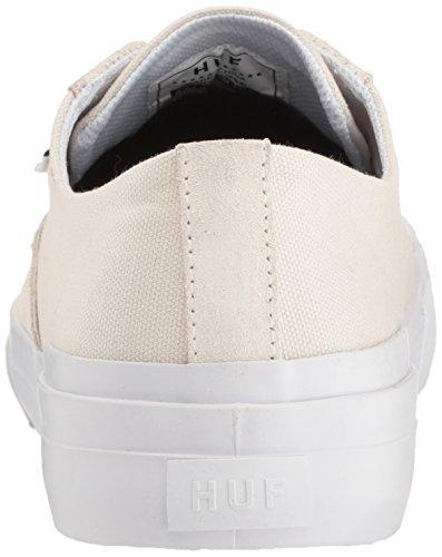 Men's White HUF Classic Shoe Lo Skateboarding Bone Ess zwwgfqRxd