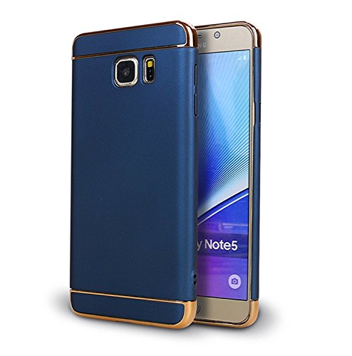 Galaxy Note 5 case,A Trading Shockproof Thin Hard Case Cover for Galaxy Note 5 (Blue)