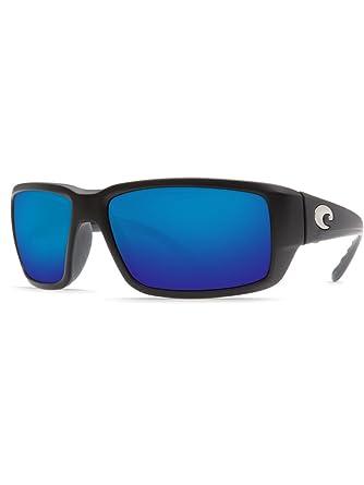 e5dbb918f42 Image Unavailable. Image not available for. Color  Costa Del Mar Fantail Matte  Black 580G Sunglasses BLUEMIRROR ...