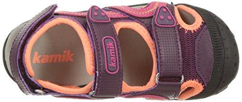 Purple Violett Sport Fille Fonce Seaturtle Kamik Sandales violet dark De Z40SAw