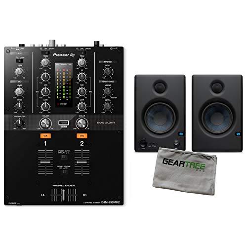 Pioneer DJDJM-250MK2 2-Channel Scratch Mixer w/Studio Monito