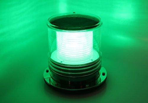 Solar Dock Warning Light