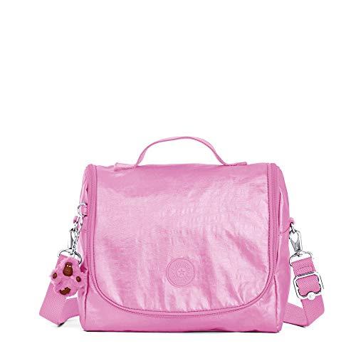 Kipling Kichirou Metallic Lunch Bag Prom Pink ()