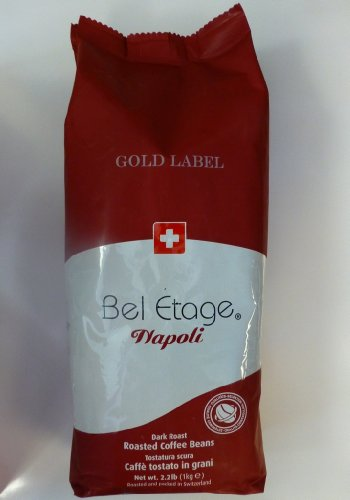 illy Cafe AG - Bel Etage Napoli Gold Label Blend Whole Bean Coffee 1kg or 2.22lbs
