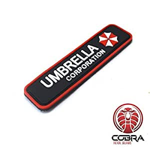 Cobra Tactical Solutions Umbrella Corporation Logo Resident Evil PVC Parche Airsoft Cosplay