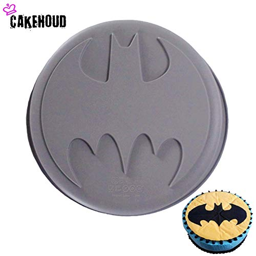 CAKEHOUD 1Pc Food Grade Silicone DIY Batman Logo Film Theme The Avengers Super Hero Nonstick Mold Baking Cake Decorating Tools