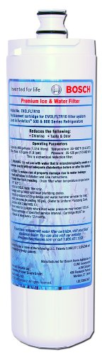Bosch 640565 Premium Refrigerator Water & Ice Filter, 1-Pack