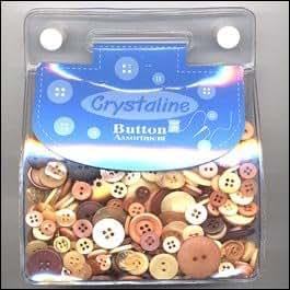 Buttons Galore Button Bonanza Grab Bag (200+ Buttons) - Gemstone