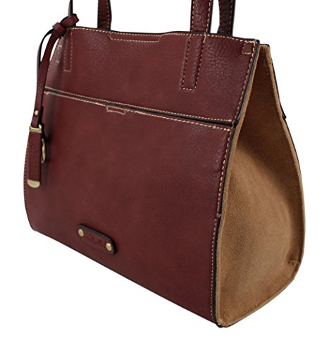 Simply Noelle 5th Avenue Satchel (Burgundy) by Simply Noelle (Image #1)