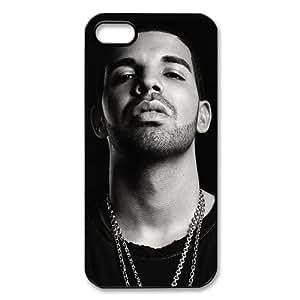 Makershouse Drake Plastic Case/cover for Apple Iphone 5/5s, Hard Case Black/white WANGJING JINDA