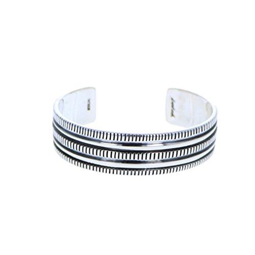 Sterling Silver 925 Three Row Bracelet