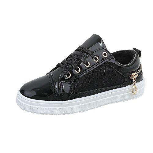 design 4 Low Piatto 1 Scarpe Da Ital N Donna Sneaker Nero Sneakers fgnR6qqwW