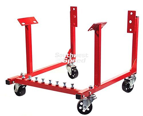 NEW 1000 LB CAPACITY ENGINE TRANSPORTATION STAND WITH 3