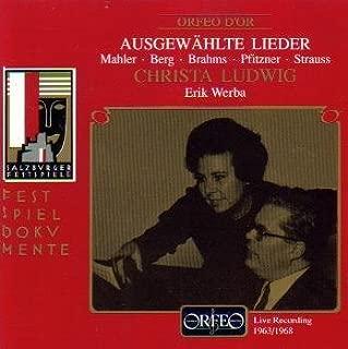 product image for Ausgewählte Lieder (Live Recording 1963/1968)