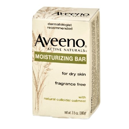AVEENO Naturals Moisturizing Bar for Dry Skin 3.50 oz (Pack of 2)