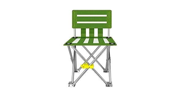 YUTI KangJZ Silla al Aire Libre, Silla Plegable cómoda Verde ...