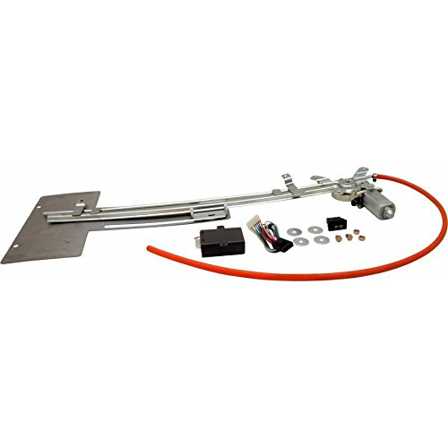 - AutoLoc Power Accessories 9854 Hidden License Plate Retractor Kit with One Touch Switch