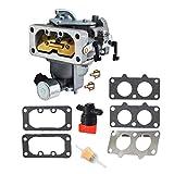 Topker Engine Accessories Carburetor Replacement for Kawasaki FX751V 15004-0939 Fuel Filter Gaskets Kit