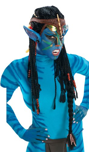 Rubie's Costume Co Avatar Deluxe Wig And Ears, Neytiri-Standard]()