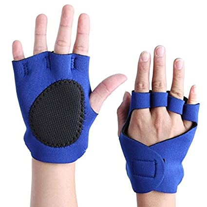1 pair Weight Lifting Gym Training Gloves Fitness Gym Building Women Men Unisex
