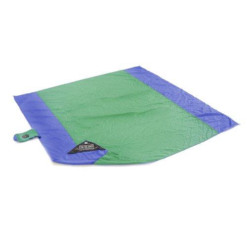 The Travel Hammock ParaSheet Beach Blanket Green/Bright Blue, Outdoor Stuffs