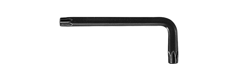Wiha Stiftschlüssel TORX® kurz, brüniert (01310) T6 x 41 mm, 18 mm Wiha Werkzeuge GmbH 363006