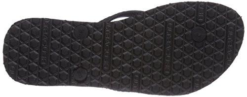Vans HANELEI - Sandalias de lona para mujer negro - Schwarz ((Authentic) bla F71)