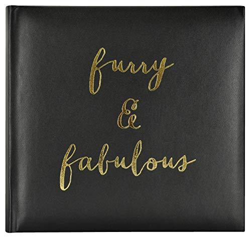 MCS MBI 860148 Furry and Fabulous Pet Photo Album, 8.5 x 8.5, Black