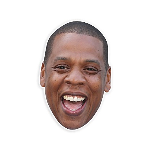 Laughing Jay-Z Mask - Perfect for Halloween, Masquerade, Parties, Events, Festivals, Concerts - Jumbo Size - Costume Z Halloween Jay