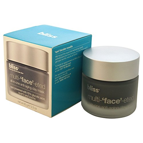 bliss Multi-'Face'-eted All-In-One Anti-Aging Clay Mask, 2.3 oz. (Mask Bliss)