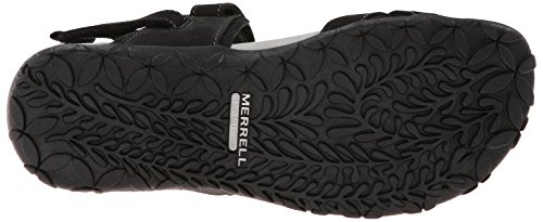 Merrell Womens Terran Sandalo Convertibile Nero