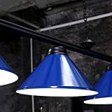 Wellmet Island Lighting, 4 Light Pool Table Light