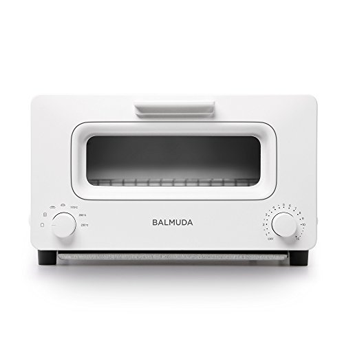 "BALMUDA Steam toaster oven ""BALMUDA The Toaster"" K01E-WS (White)【Japan Domestic genuine products】"